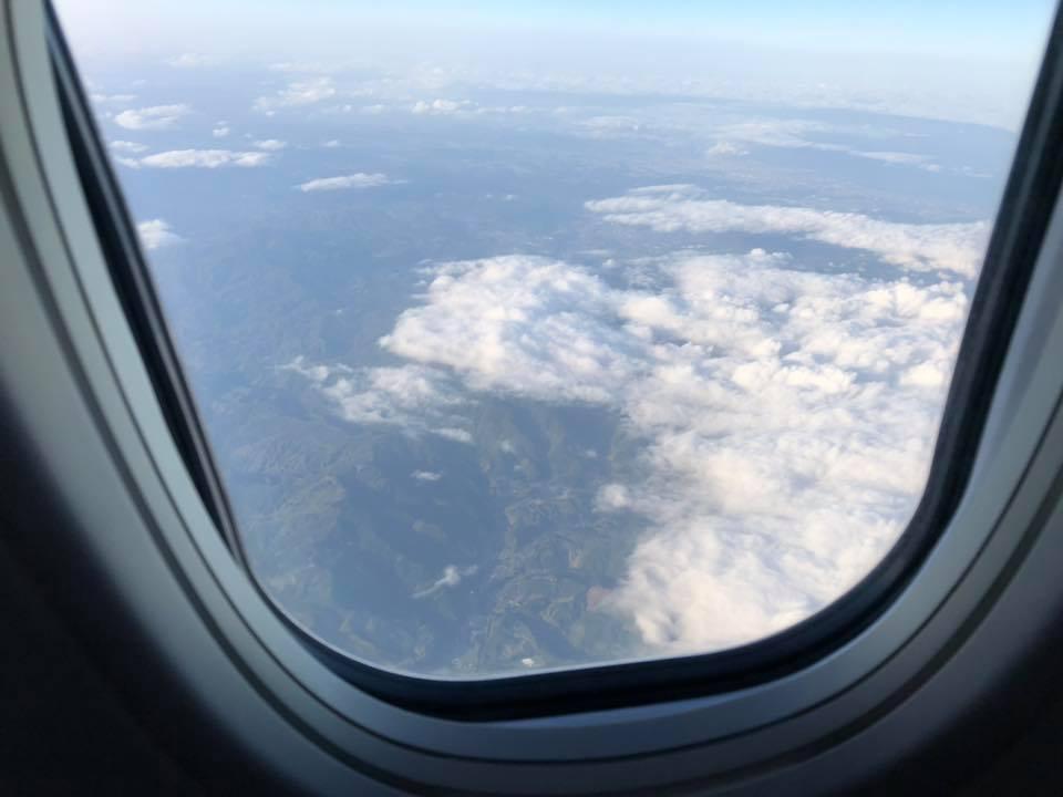 鹿児島の上空